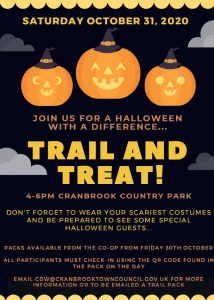 Cranbrook Halloween 2020 Poster